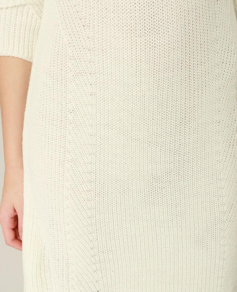 Robe pull blanc