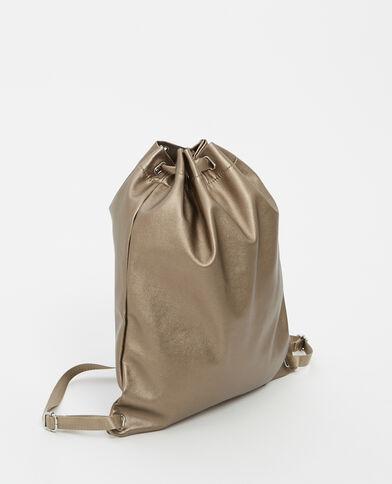 Grand sac à dos bronze