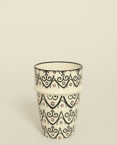 Mug à motifs noir