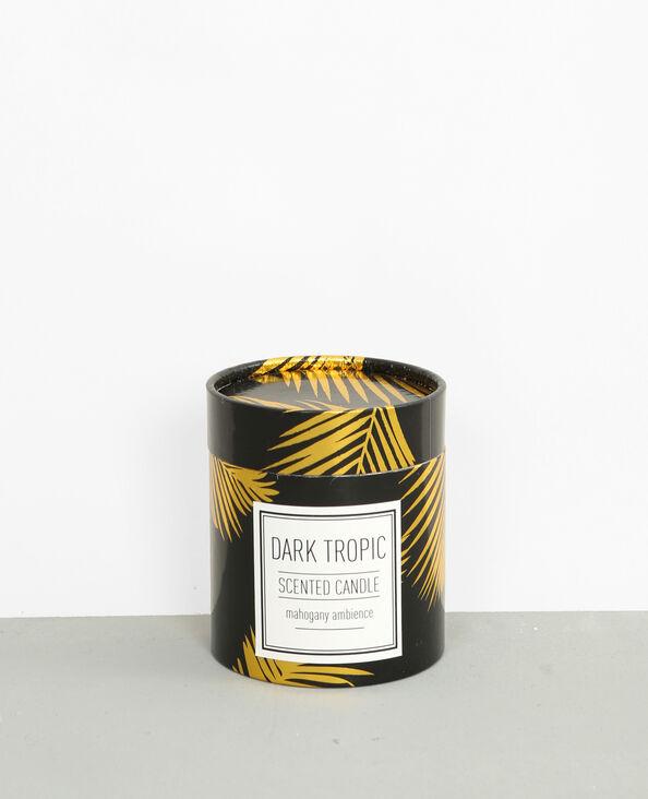 "Bougie parfumée ""Dark tropic"" noir"