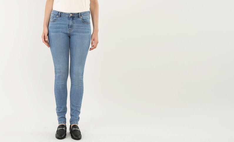 Jean skinny jean brut