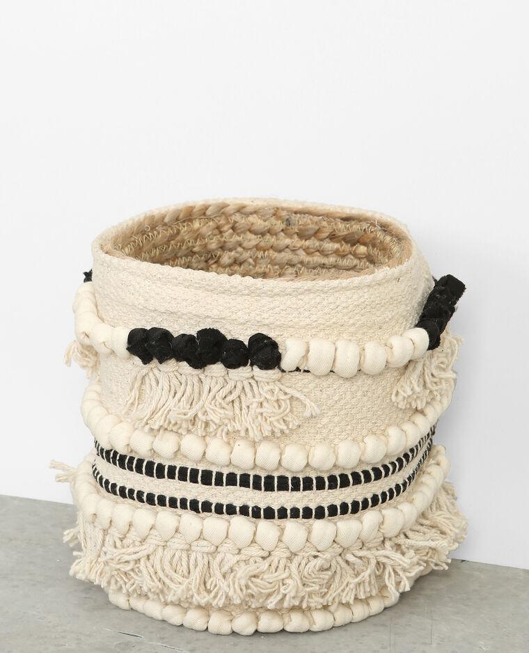 panier berb re blanc cass 50 902875912a09 pimkie. Black Bedroom Furniture Sets. Home Design Ideas