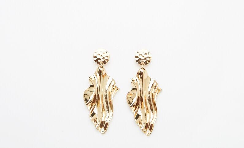 Boucles d'oreilles XL doré