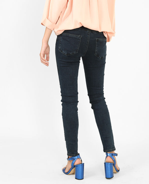 Jean skinny push up bleu