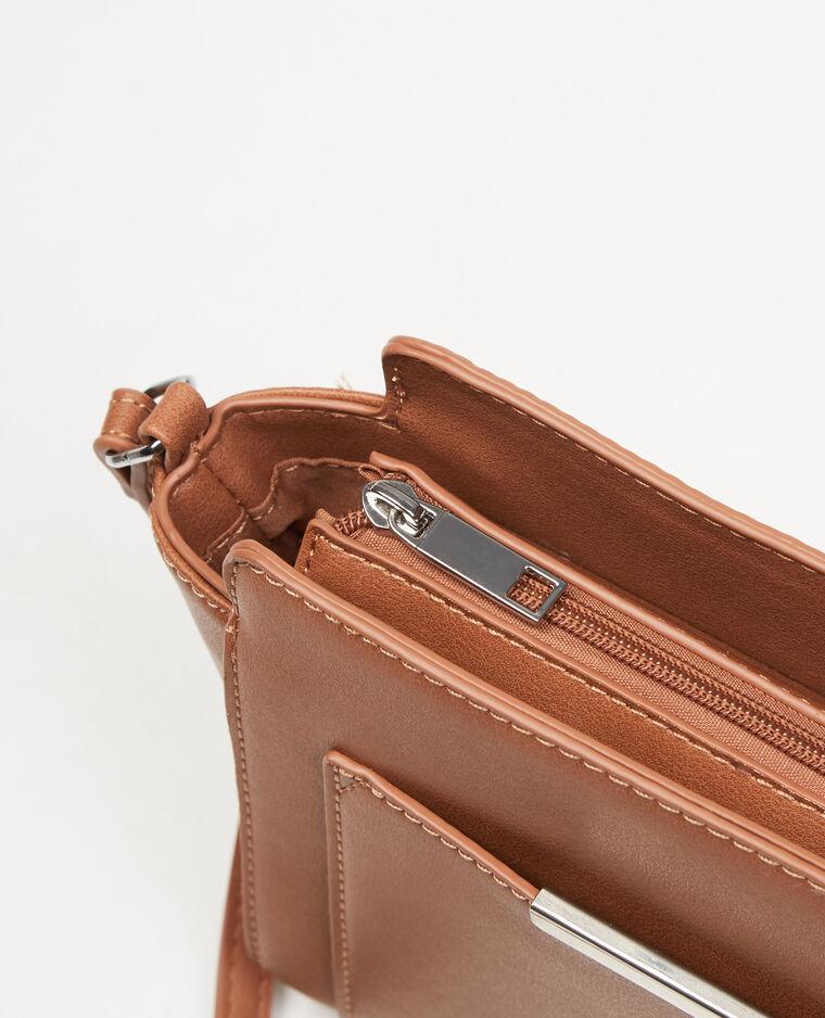 Petit sac trapèze caramel