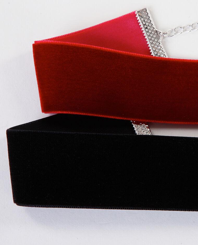 Colliers chokers velours noir