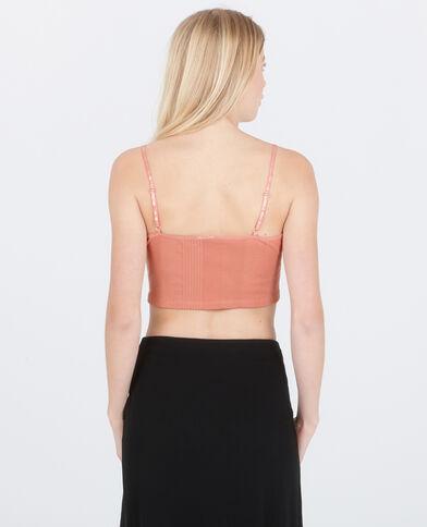 Brassière homewear rose