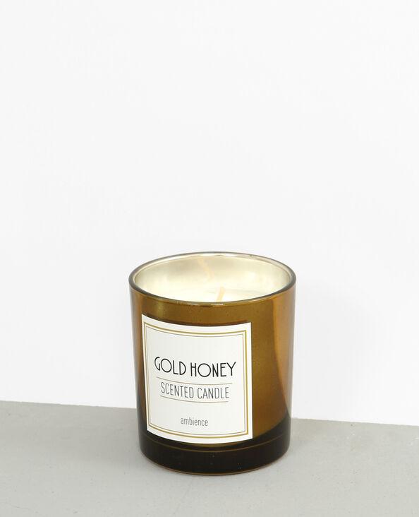 """Bougie parfumée """"Gold honey"""" doré"""