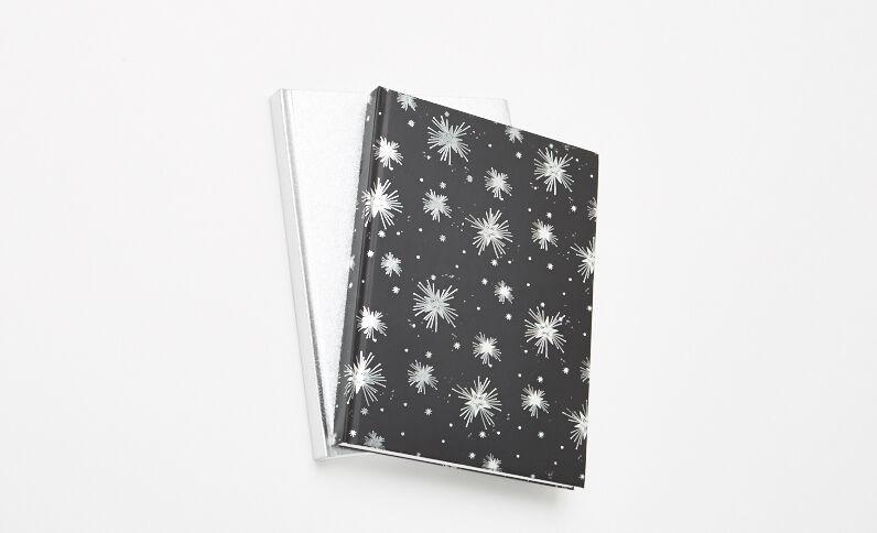 Lot de 2 Notebooks gris anthracite