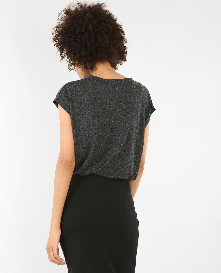 T-shirt à manches courtes gris