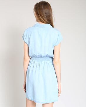 Robe cintrée bleu clair