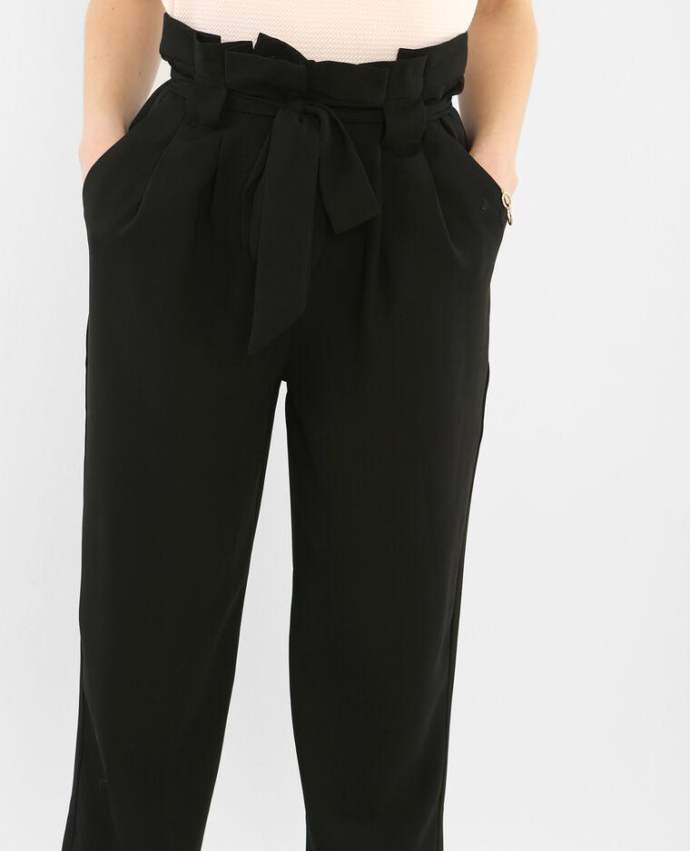 pantalon fluide noir 140288899a08 pimkie. Black Bedroom Furniture Sets. Home Design Ideas