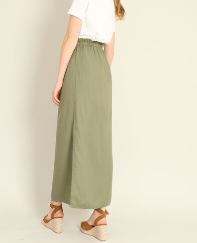 Jupe longue vert