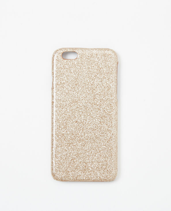 Coque glitter compatible Iphone 6/6S doré