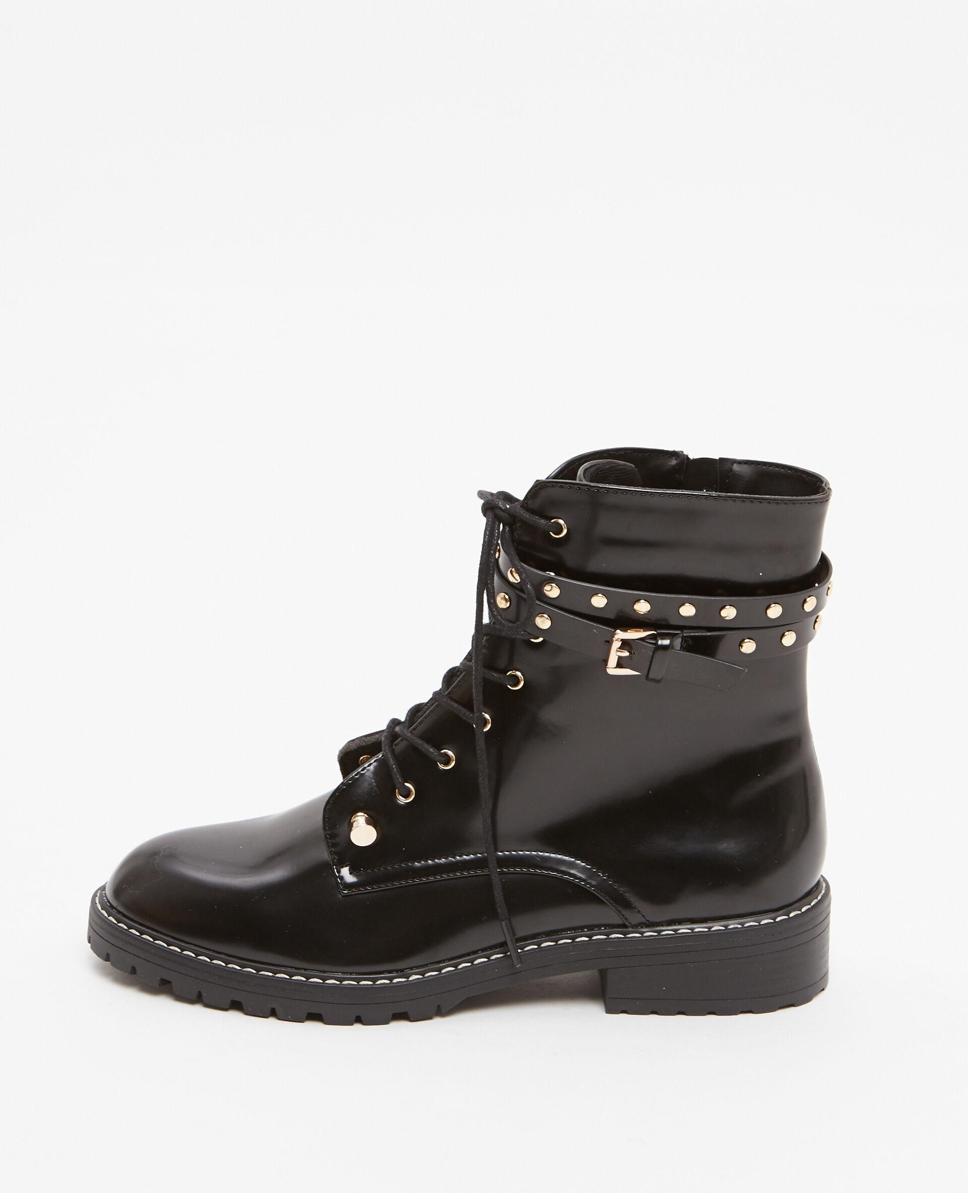 Boots Brides Noir kqGGw