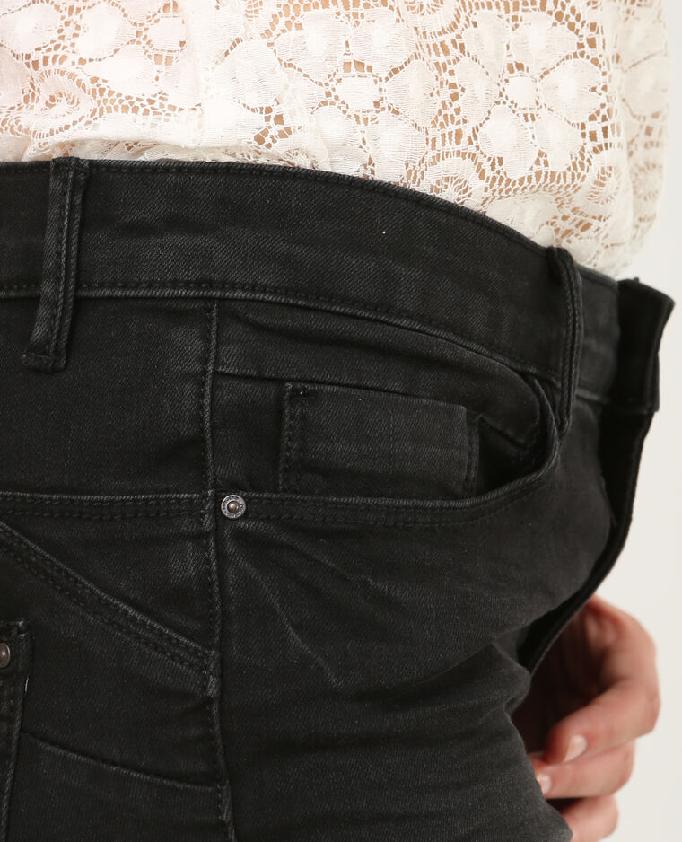 Jean skinny push up noir