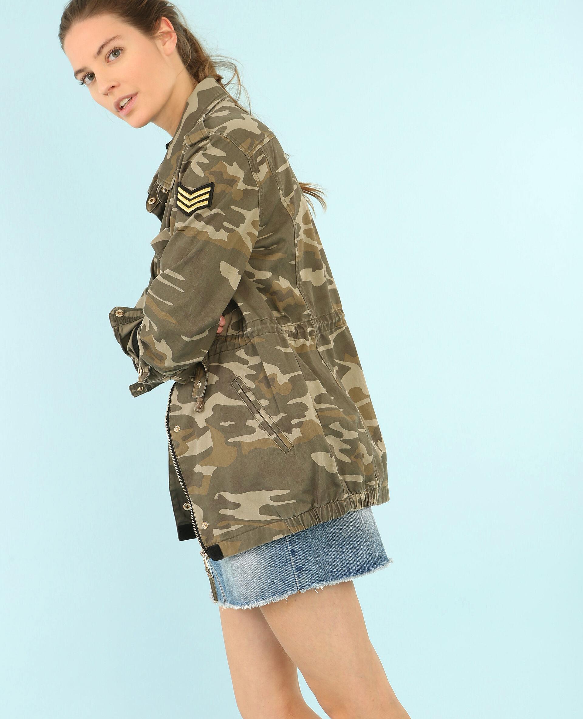 ⏳ Veste camouflage army Femme -50% - Couleur kaki - Taille L - PIMKIE - MODE FEMME