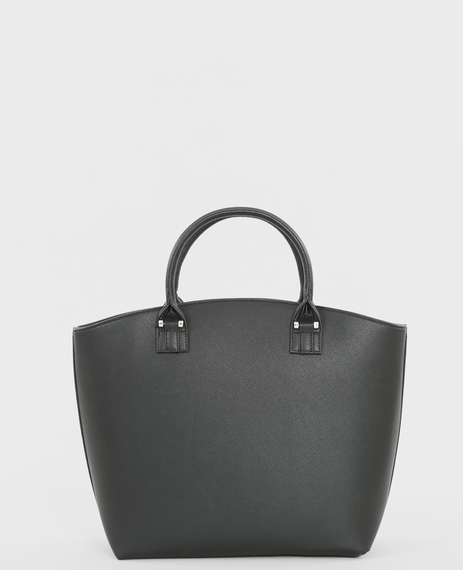 grand sac rigide noir 983075899a08 pimkie. Black Bedroom Furniture Sets. Home Design Ideas