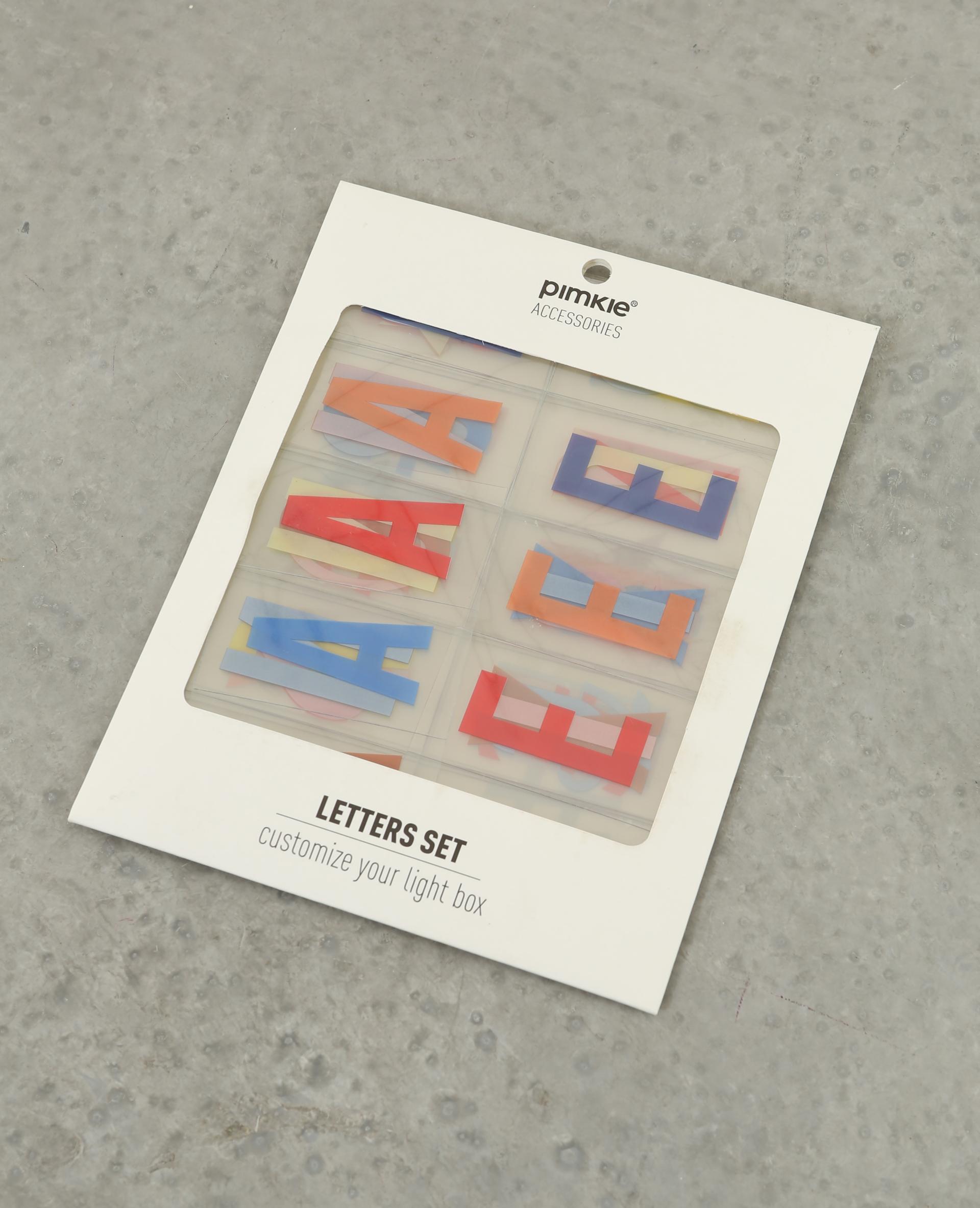 Lettres color es pour lightbox caramel 20 907183a00a0a pimkie - Lettre pour lightbox ...
