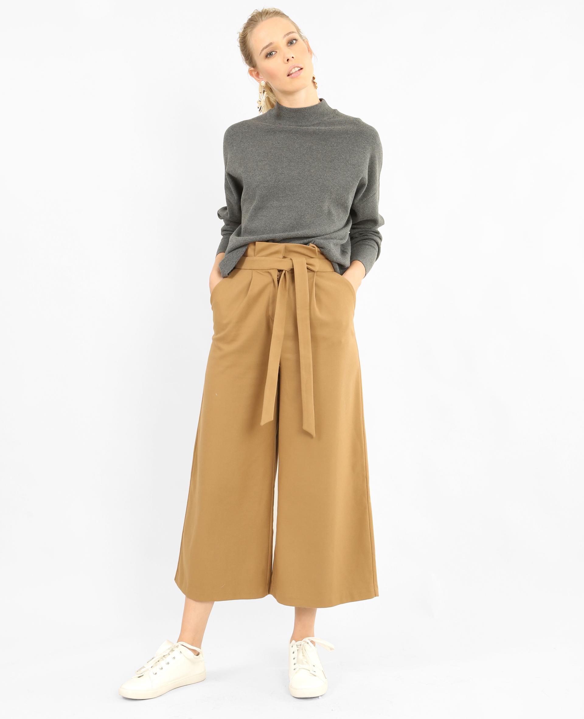jupe culotte taille haute caramel 140483721a07 pimkie. Black Bedroom Furniture Sets. Home Design Ideas