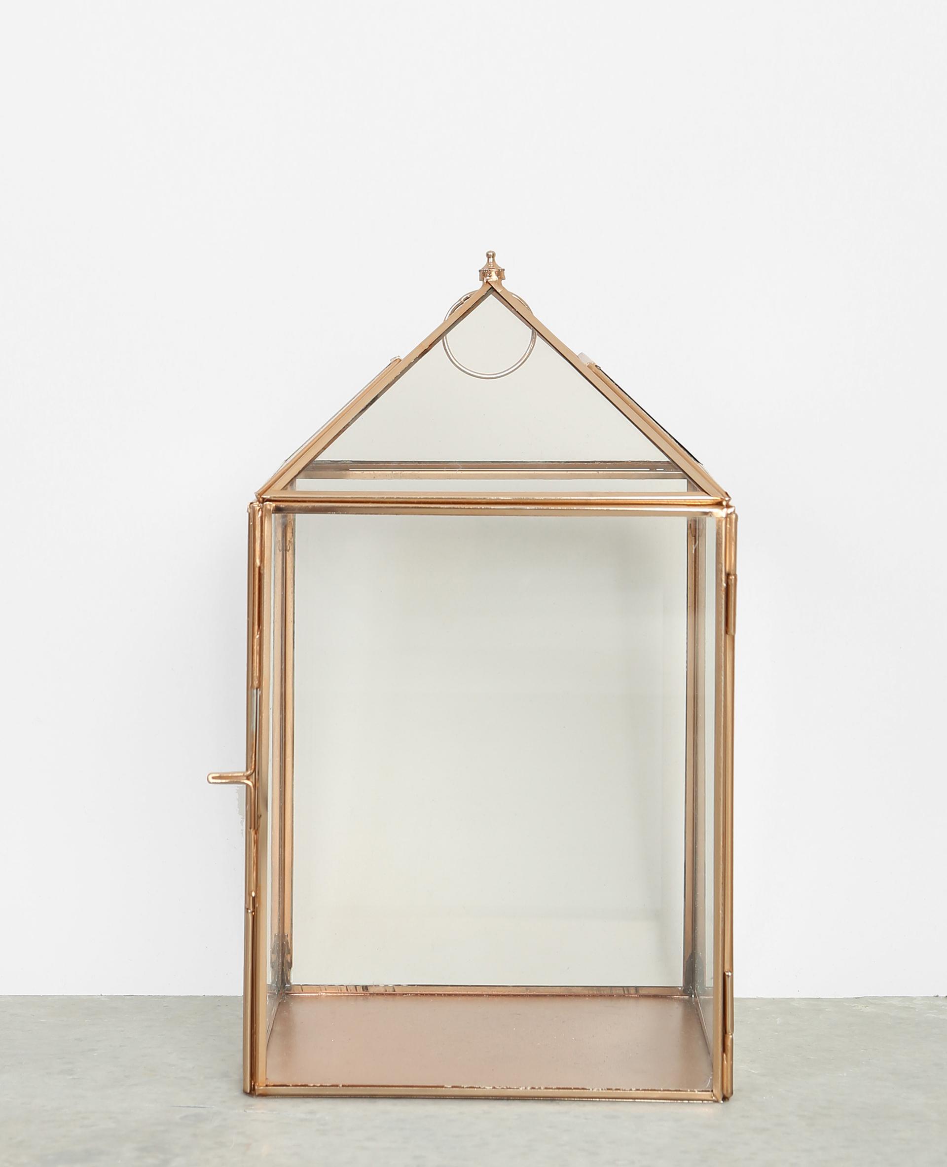 photophore verre et m tal dor 902848g06a0g pimkie. Black Bedroom Furniture Sets. Home Design Ideas