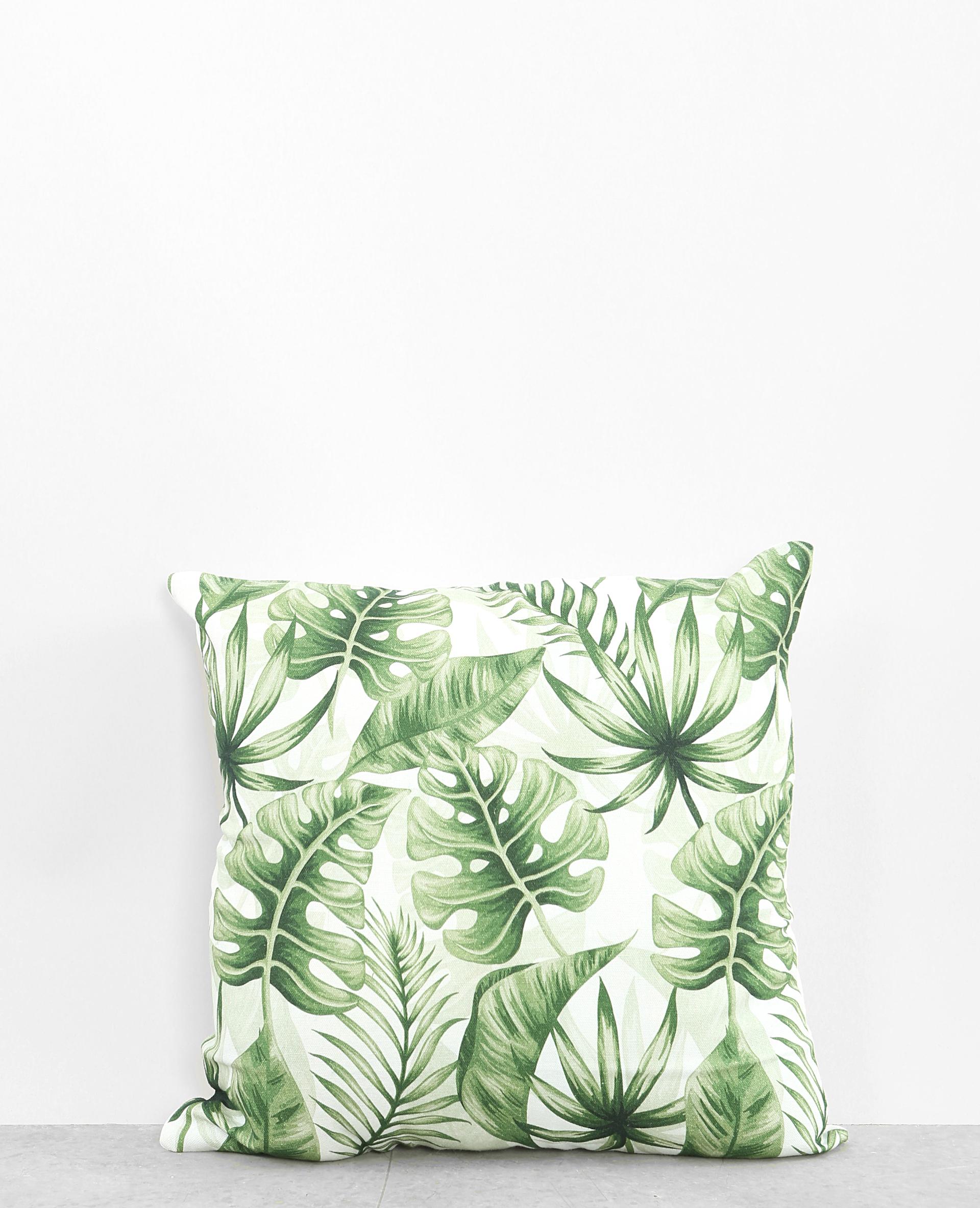 housse de coussin palmier vert 902872a50i05 pimkie. Black Bedroom Furniture Sets. Home Design Ideas