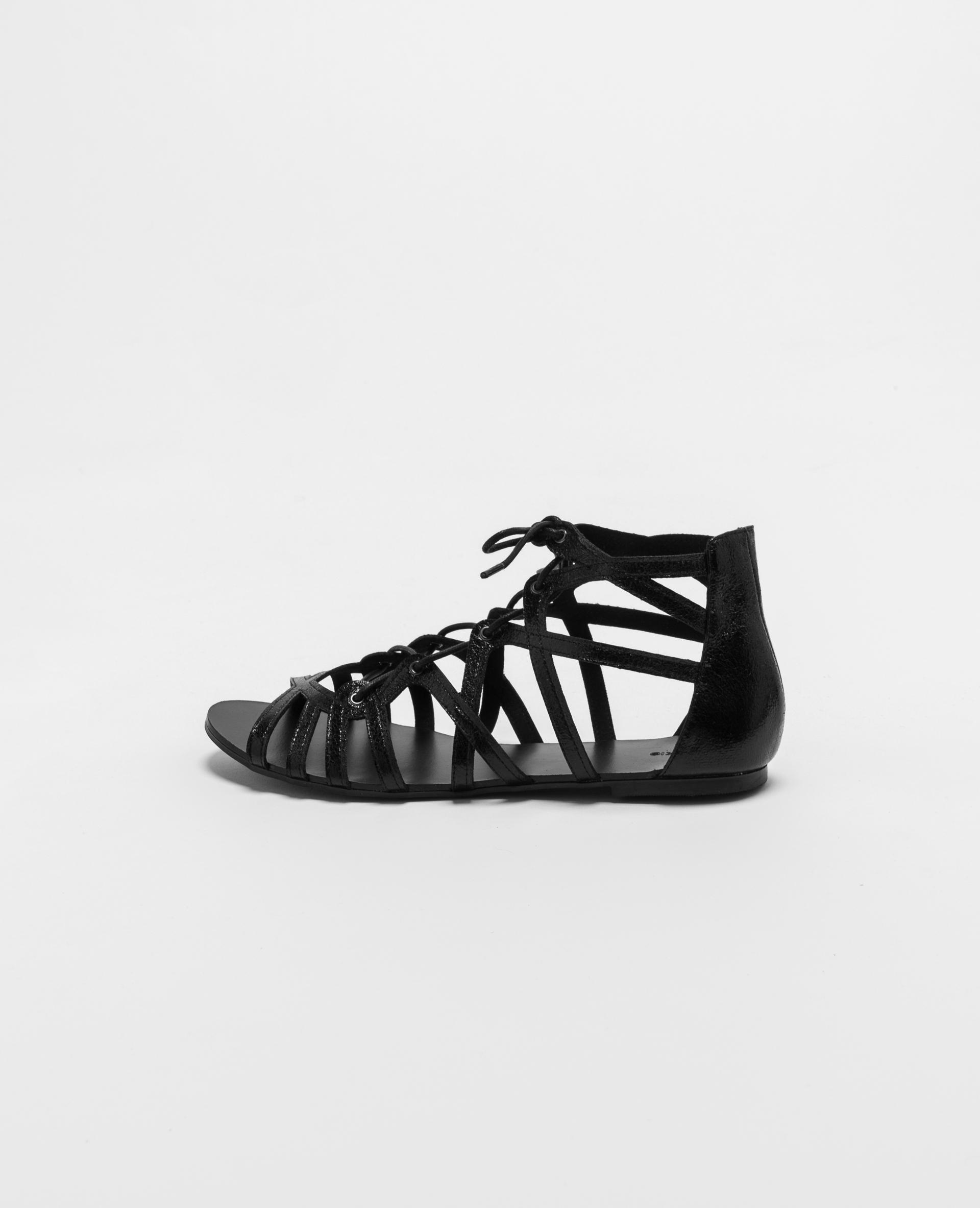 Pimkie Sandales plates Noir