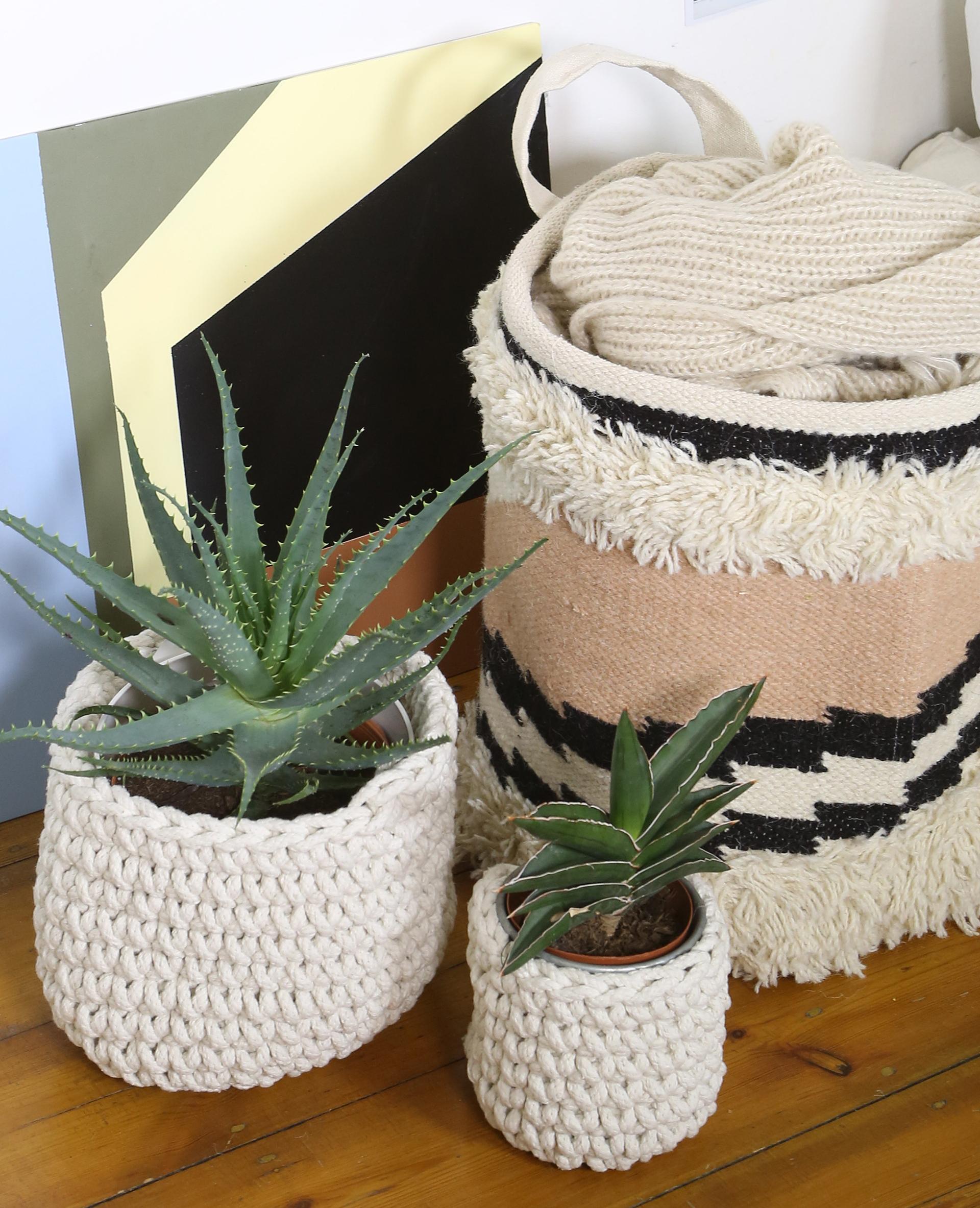 cache pot crochet grandmod le beige 955085765a0e pimkie. Black Bedroom Furniture Sets. Home Design Ideas