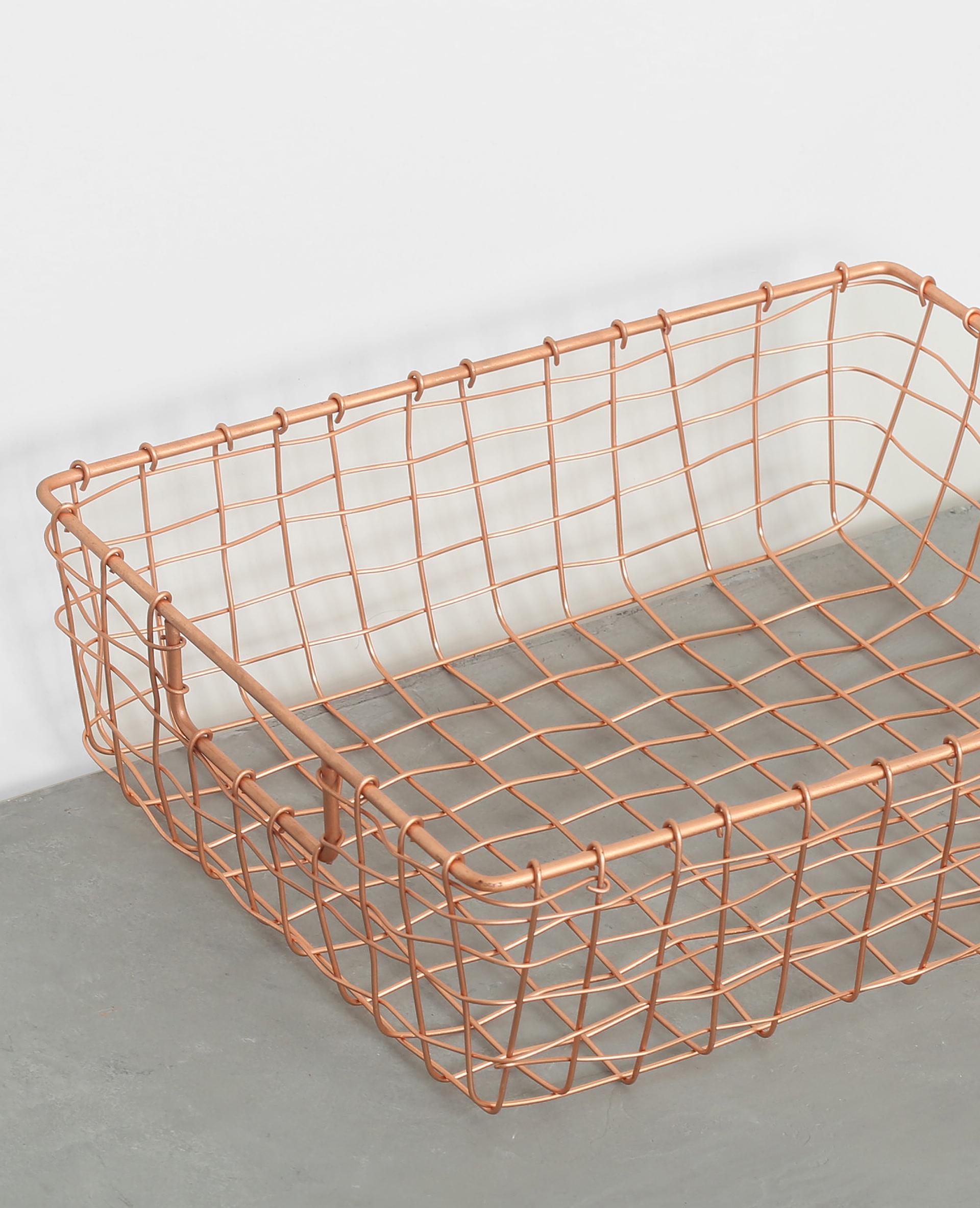 panier grillag cuivr 975086g07a0g pimkie. Black Bedroom Furniture Sets. Home Design Ideas
