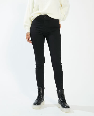 Jegging high waist noir - Pimkie