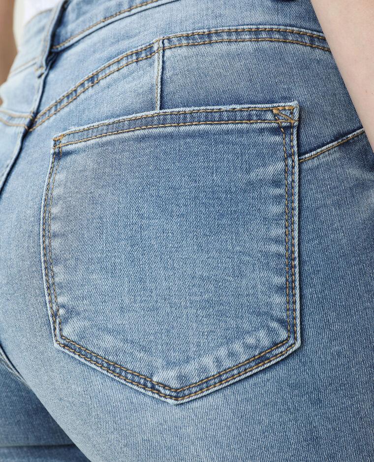 Jean skinny push up mid waist bleu denim - Pimkie