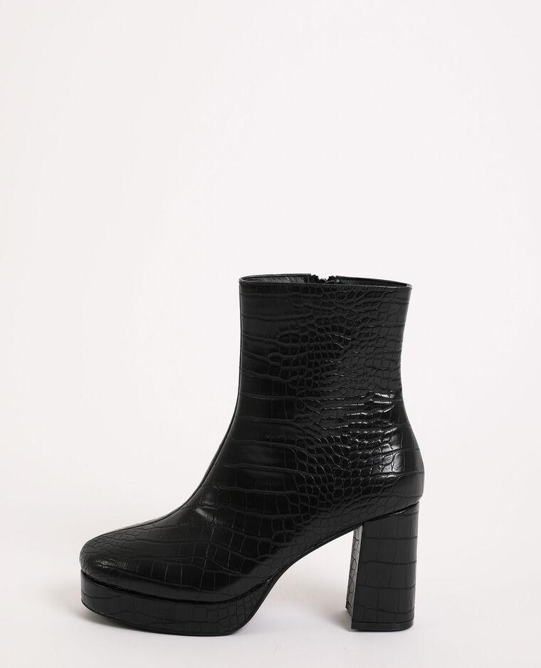 Boots plateforme noir - Pimkie