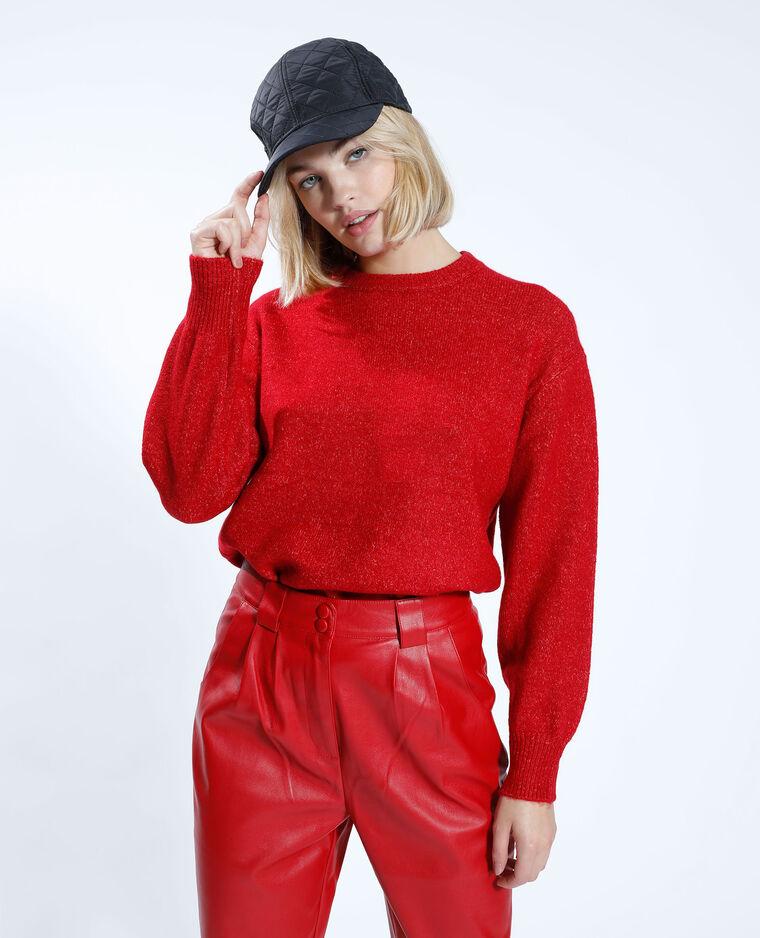 Pull basique rouge - Pimkie