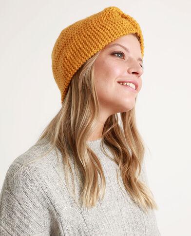 Headband épais pour cheveux jaune