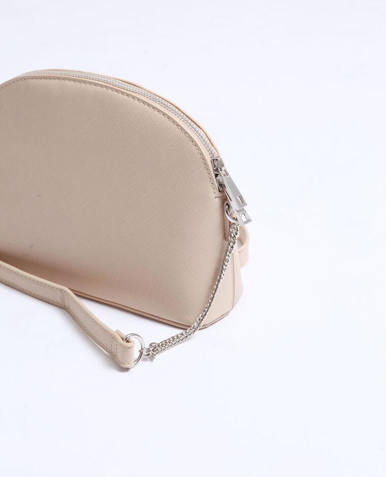 Petit sac en faux cuir gris