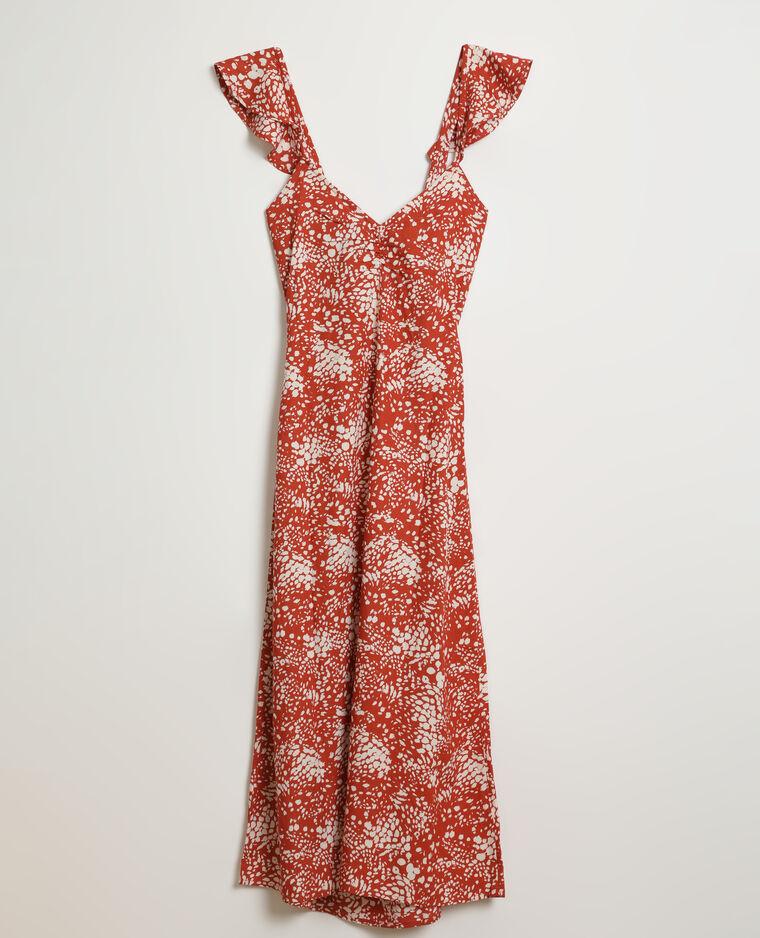 Robe longue marron - Pimkie