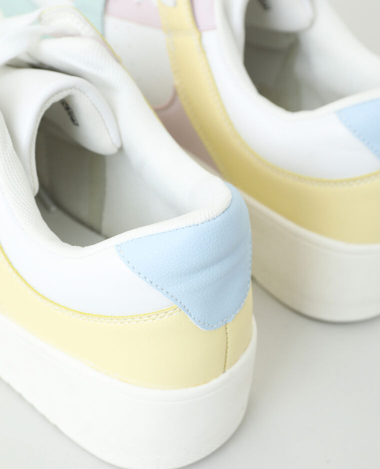 Baskets plateformes blanc - Pimkie