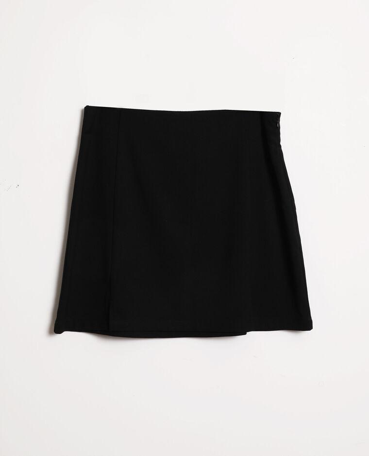Jupe trapèze noir