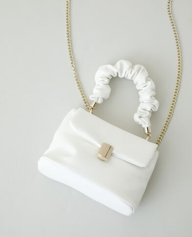 Mini sac à main blanc