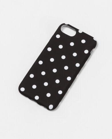Coque souple compatible iPhone 7 noir