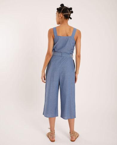 Combi-pantalon 7/8 bleu clair