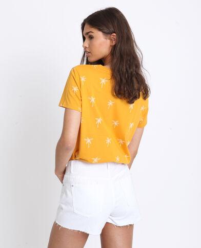 T-shirt à imprimé cassonade