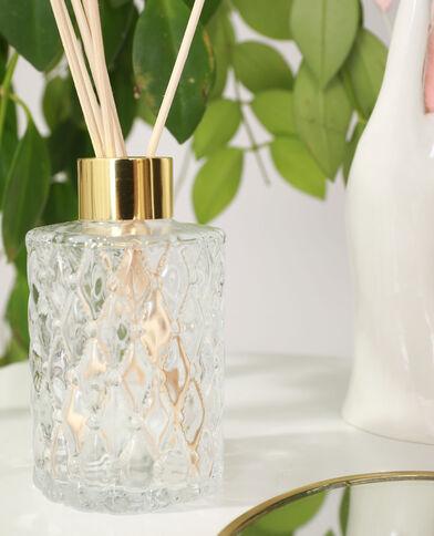 Diffuseur de parfum en verre blanc cassé - Pimkie