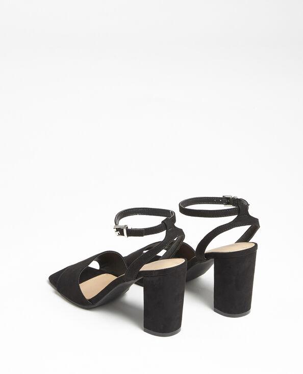 Sandales nubuck noir
