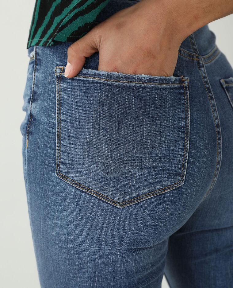 Jean skinny high waist bleu denim - Pimkie