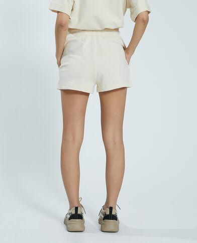 Short molleton blanc - Pimkie