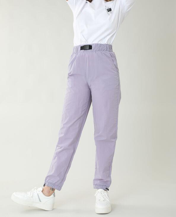 Pantalon coupe-vent violet - Pimkie