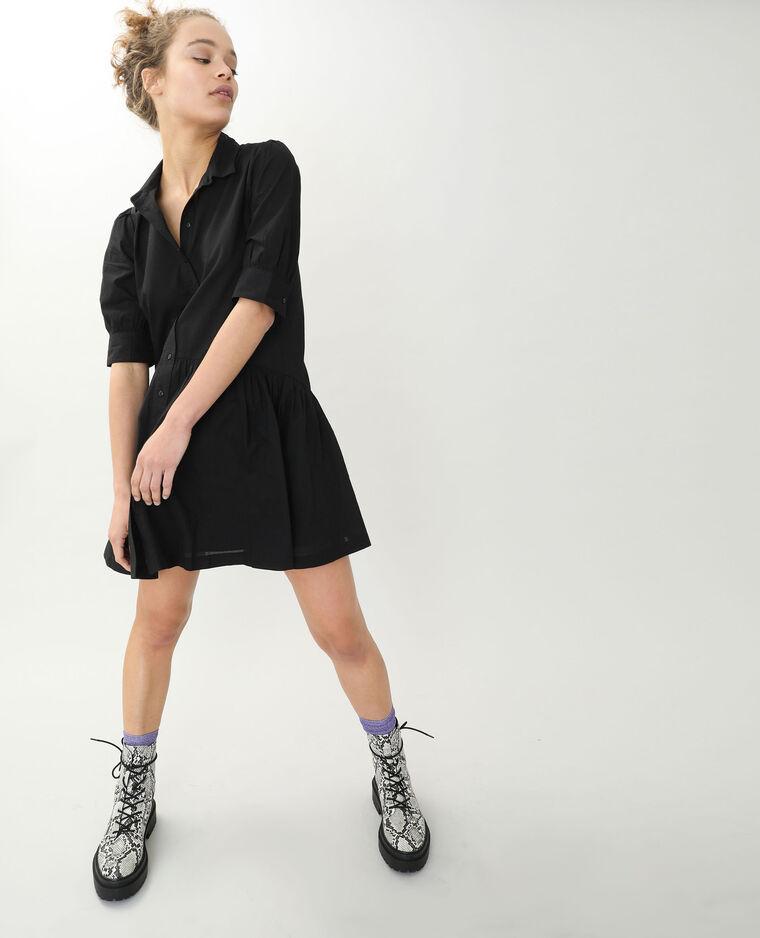 Robe chemise noir - Pimkie
