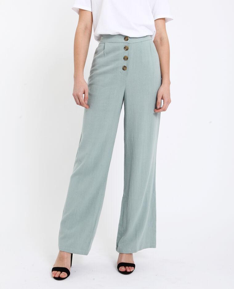 bas prix e2347 61c29 Pantalon 30% lin