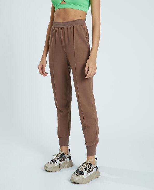 Pantalon molleton marron - Pimkie